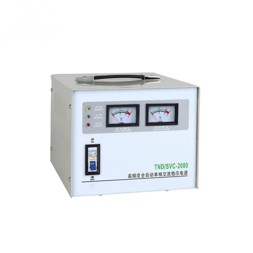 SVC/TND household single phase voltage stabilizer