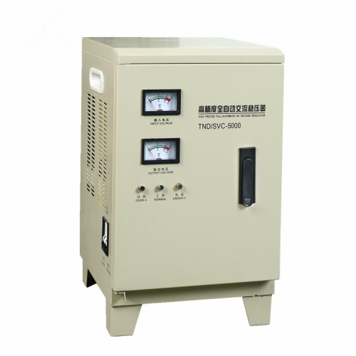 SVC/TND Series single phase ac voltage stabilizer